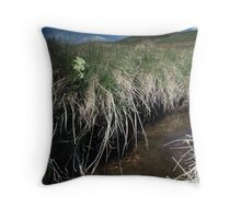 Scottish primrose Throw Pillow