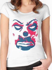 The Joker - bank mask Women's Fitted Scoop T-Shirt