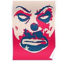 The Joker - bank mask Poster