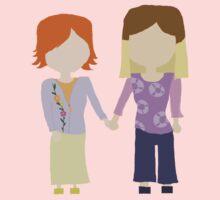 You're My Always - Willow & Tara Stylized Print Kids Tee