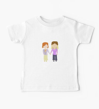 You're My Always - Willow & Tara Stylized Print Baby Tee