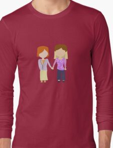 You're My Always - Willow & Tara Stylized Print Long Sleeve T-Shirt