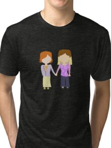 You're My Always - Willow & Tara Stylized Print Tri-blend T-Shirt