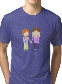 You're My Always - Willow & Tara Stylized Print Tri-blend T-Shirt