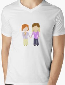 You're My Always - Willow & Tara Stylized Print Mens V-Neck T-Shirt