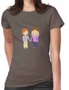 You're My Always - Willow & Tara Stylized Print Womens Fitted T-Shirt