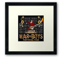 The Coma-Doof Warrior Rides Again! Framed Print