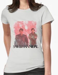 Save Hannibal [v2]  Womens Fitted T-Shirt