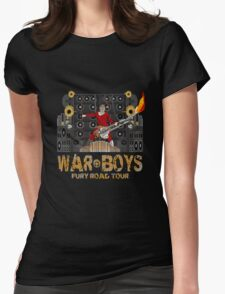 The Coma-Doof Warrior Rides Again! Womens Fitted T-Shirt