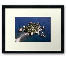 Isola Bella Framed Print