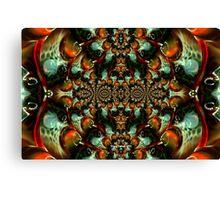 Macro Glass 3 Canvas Print