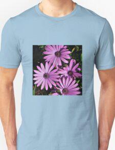 MAUVE DASIES Unisex T-Shirt