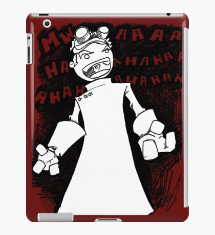 Doctor Horrible - Transparent Evil Laugh iPad Case/Skin