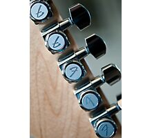Fender Tuners Photographic Print