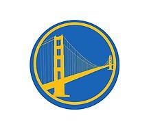 SF Golden State Warriors Alternate Logo Photographic Print