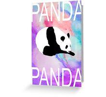 PANDA PANDA PANDA Greeting Card