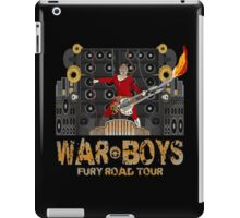 The Coma-Doof Warrior Rides Again! iPad Case/Skin