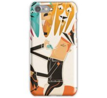 Cousin Morse Rides His Horse iPhone Case/Skin