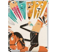 Cousin Morse Rides His Horse iPad Case/Skin