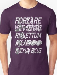 Dresden Files - Spells (Transparent) T-Shirt