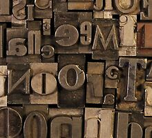 Letterpress by Madelei