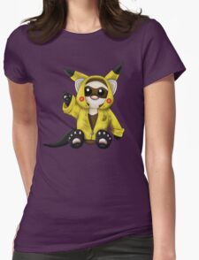 Pika Ferret Womens Fitted T-Shirt