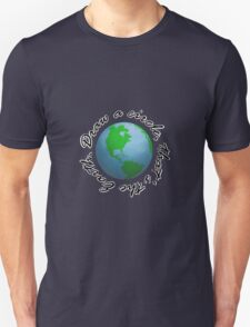 Draw a Circle, That's the Earth Unisex T-Shirt
