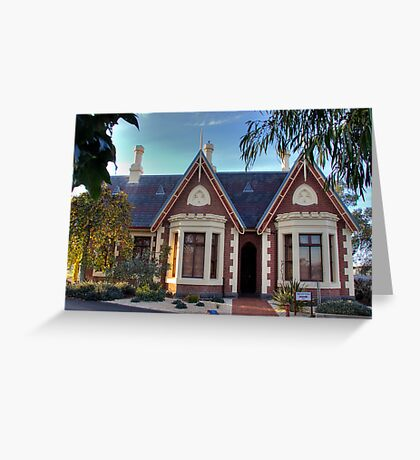 The Gate House Greeting Card