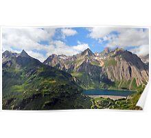 Formazza Valley, Lake Morasco Poster