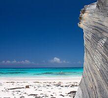 Bahamas, plage de Lighthouse sur Eleuthera by Marie-Ange Ostré