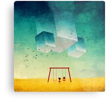They're Coming (The Cubes) Metal Print