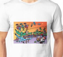 Flying Buskers Unisex T-Shirt