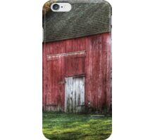 The old red barn iPhone Case/Skin