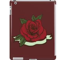 Tattoo Rose iPad Case/Skin