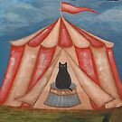 Basil the Circus Cat by Ryan Conners