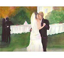 Wedding romance Photographic Print