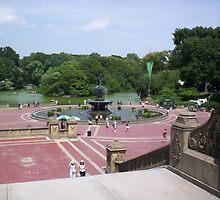 Bethesda Fountain, NYC by kmeghan