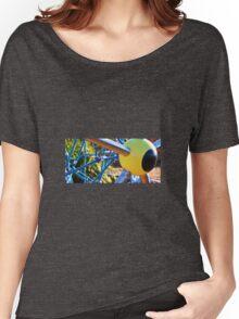 YELLOW EYEBALL Women's Relaxed Fit T-Shirt