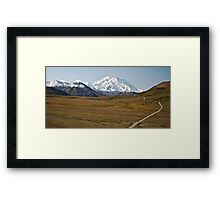 Tundra Bus Framed Print