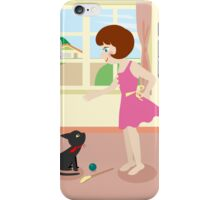 Whim and Girl iPhone Case/Skin