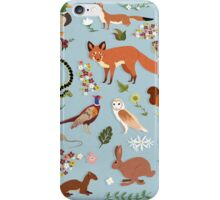 Wildlife of the United Kingdom iPhone Case/Skin
