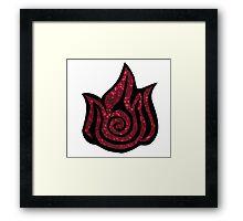 Fire Nation Framed Print