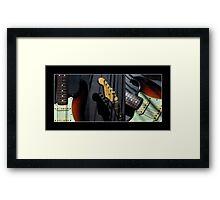 Guitar Icon : '62 Strat II Framed Print
