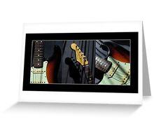 Guitar Icon : '62 Strat II Greeting Card