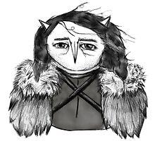 Jon Snow Owl by annieclayton
