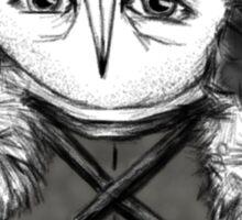 Jon Snow Owl Sticker