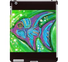 Purple flying fish iPad Case/Skin