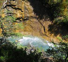 Johnston's Canyon River Hike - 2 by JillCM