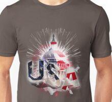 USA capitol Unisex T-Shirt