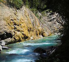 Johnston's Canyon River Hike - 3 by JillCM